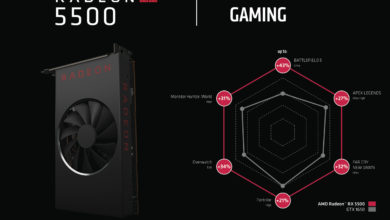 Photo of AMD's Radeon RX 5500 Priced at $200, RX 5500 XT to Cost $225+