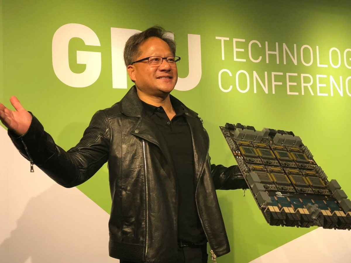 Nvidia Ceo Our Gpus Are Twice As Efficient As Amd S Regardless Of The Process Node Hardware Times