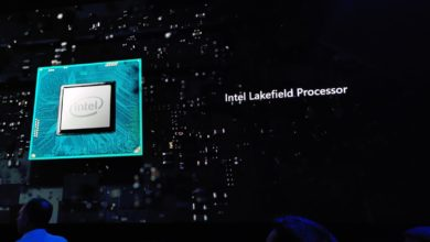 Photo of Intel Lakefield Chip with Foveros 3D Packaging Technology Spotted