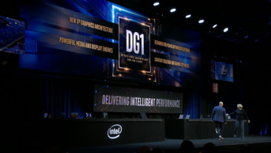 Photo of Intel Xe DG1 Graphics Card Runs Destiny at CES Keynote; Spoiler Alert: It's a Mobile iGPU