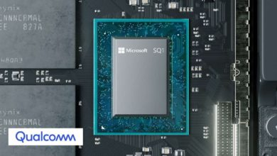 Photo of Custom Qualcomm Chip Beats 10nm Intel Lakefield SoC in MS Surface Pro X