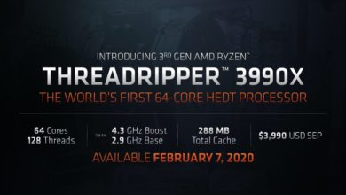 Photo of AMD Ryzen Threadripper 3990X Overclocked to 5.5GHz on all 64 Cores!
