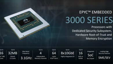 Photo of AMD's EPYC 3000 server lineup gets revamped