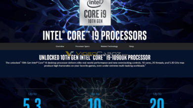 Photo of Intel's 10th Gen Core i9-10900K Seems to Perform Almost on par w/ the Ryzen 9 3900X