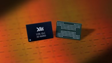 Photo of Chinese YMTC unveils its First 128-layer QLC 3D NAND SSD Memory Chips, the X2-6070