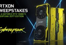 Photo of The GeForce RTX 2080 Ti Cyberpunk 2077 Edition is being Auctioned on eBay for over US$4,200
