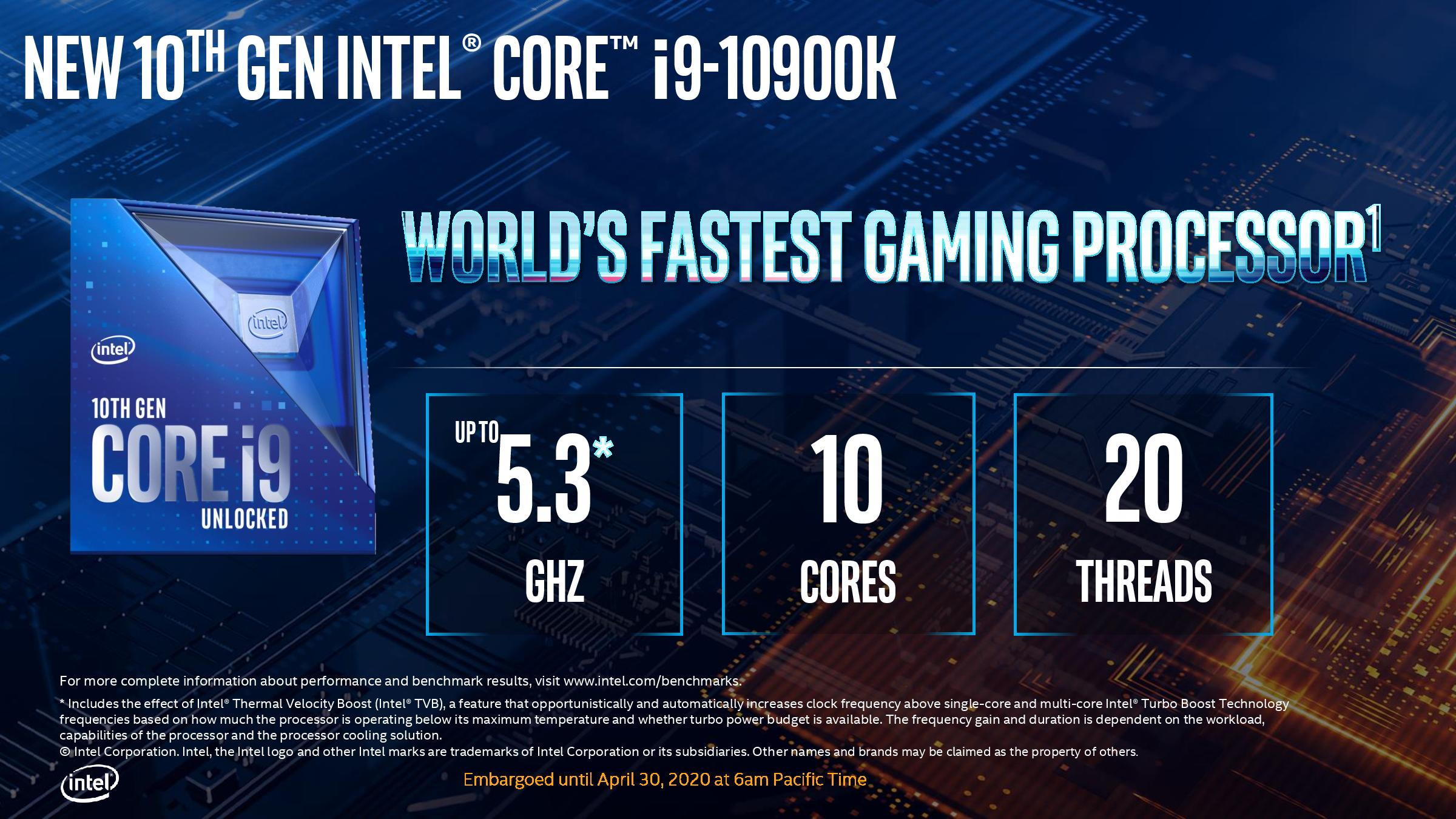 Intel Core I9 10900k Beats The Amd Fx 9590 To Become The World S Best X86 Space Heater Hardware Times