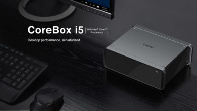Photo of Meet the Chuwi CoreBox i5: An 800g Mini-PC Featuring a Core i5 and 8GB of LPDDR4 Memory