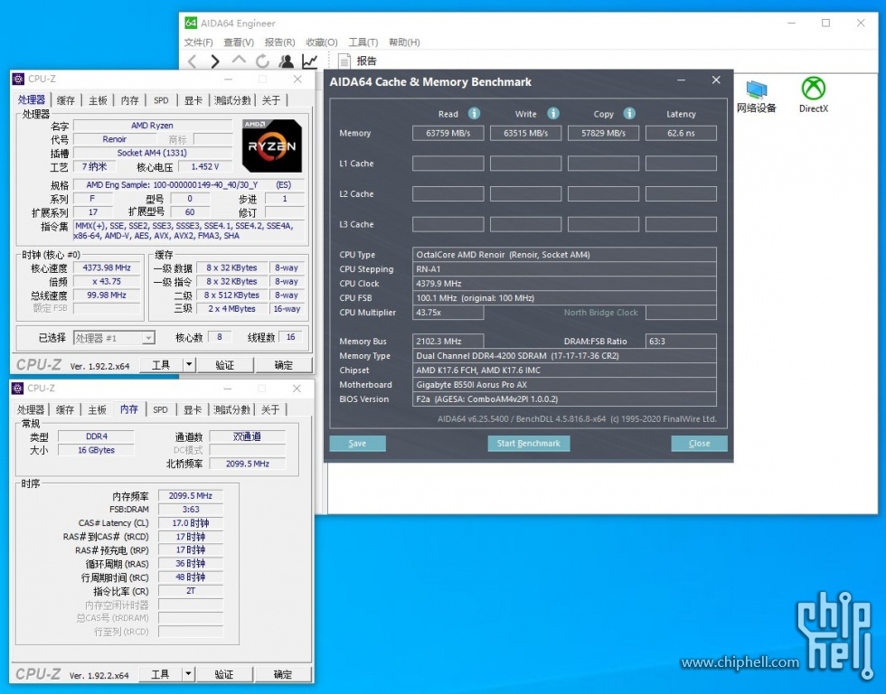 Amd Renoir Desktop Apu Spotted With Infinity Fabric Frequency Of 2 1ghz Hardware Times