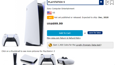 Photo of Sony PlayStation 5 Launch Price Reportedly Leaked by Retailer