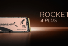 Photo of Sabrent Launches Rocket 4 Plus SSD w/ Speeds Up to 7 GB/s Sequential R/W