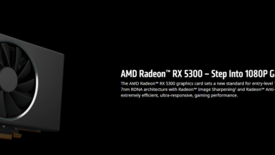 Photo of AMD Launches the Radeon RX 5300: 30-40% Faster than the NVIDIA GTX 1650 [Update]