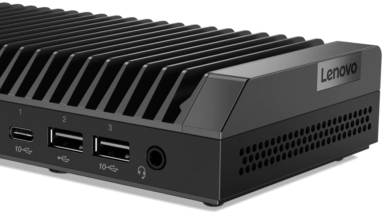 Photo of Lenovo ThinkCentre M75n IoT Nano Desktop w/ AMD  Athlon 3050e APU Launched for $452