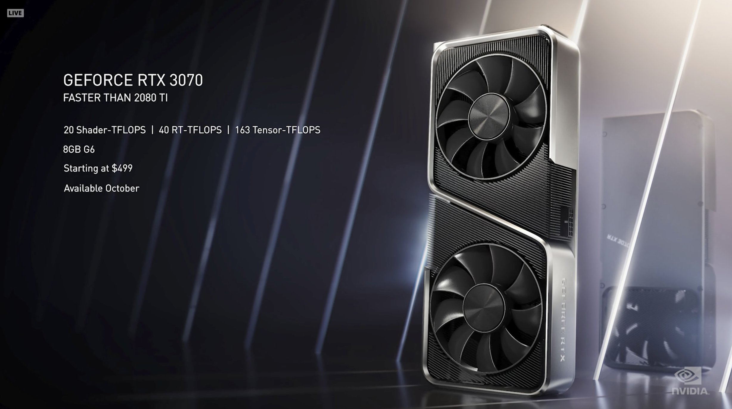 Nvidia Postpones The Rtx 3070 Launch To 29th Oct A Day After Navi 2x Announcement Hardware Times