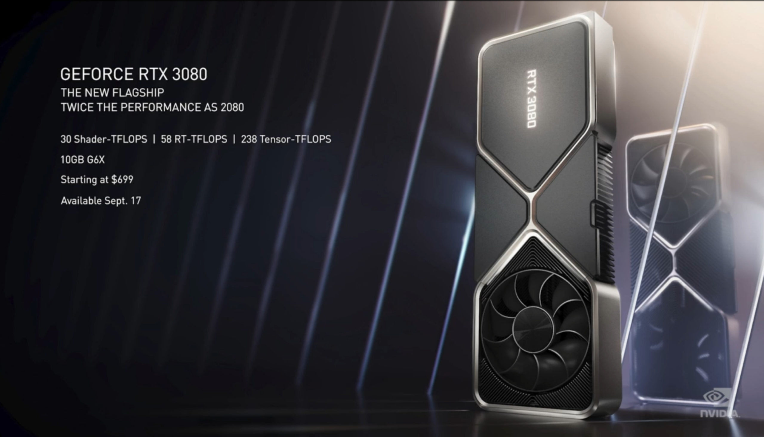 NVIDIA Launches RTX 3070, 3080 and 3090 for $499, $699 and $1,499: Based on Samsung's 8nm Process