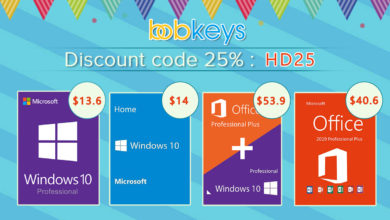 Photo of Buy Windows 10 PRO Key for Less than $15 (25% Off Coupon)